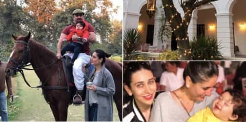 Taimur's first birthday celebrations are unexpected and in full-swing!