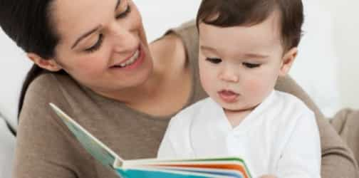 How and what you read that can impact baby's brain development