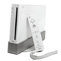 Toddler Plays the Wii