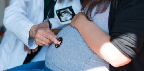 Woman conceives while pregnant - superfetation