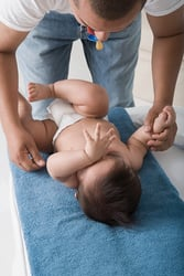How daddies deal with baby poop ... and those other stinky moments.