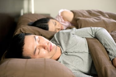 Study: Men Don't Hear Baby's Cries At Night