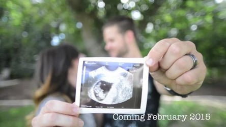 How to make an AWESOME pregnancy announcement video