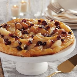 Whip up this Upside Down Pear Pie with the kids!