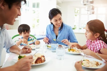 Good eating habits for kids: Tips on how to handle a slow eater