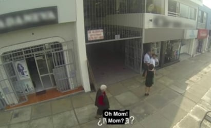 These men won't stop harassing women until... Mom?