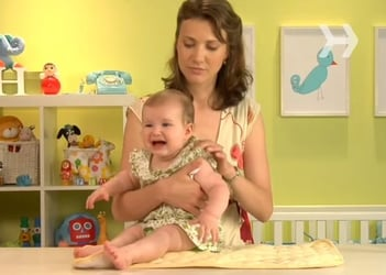 Video: How to calm a crying baby