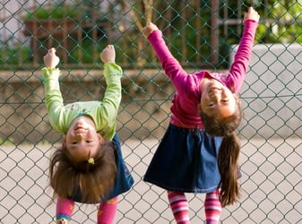 Positive parenting tip: Let your children play outdoors!