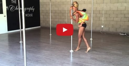Watch this mom take pole dancing to the next level