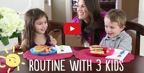 This video is perfect for moms who have 3 kids or more!