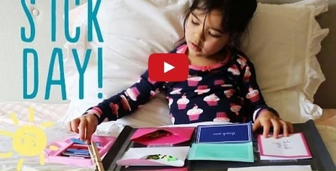 5 activities for when your child is having a sick day