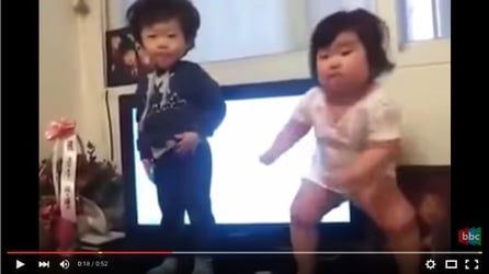 Watch: Dance moves that are too adorable for words!