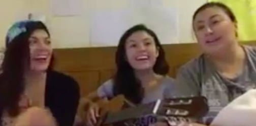 Watch: Sharon Cuneta sings duet with daughters KC and Frankie