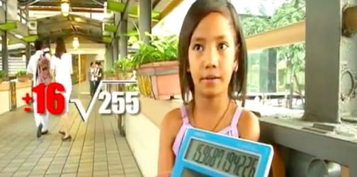 Watch: Street vendor is a young math genius