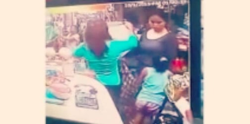 Watch: Two women and young girl stealing, caught on CCTV