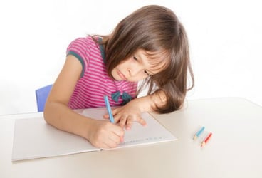 Does your child have trouble writing? It might be Dysgraphia