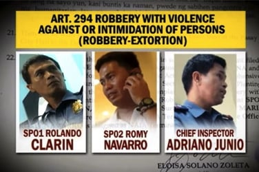 4 more cops relieved of duty for alleged involvement in 'laglag bala'