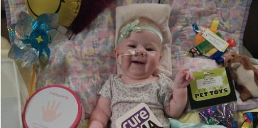 The family of a dying baby is fulfilling all the wishes on her bucket list