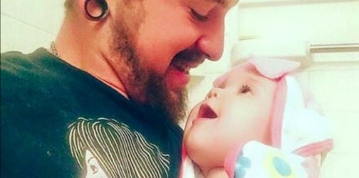 This touching letter from a young single dad is going viral