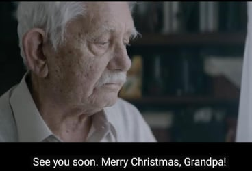 Make choices you won't regret: A moving Christmas ad's message