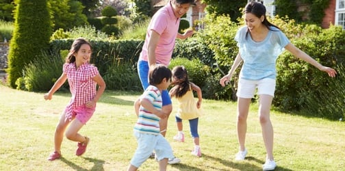 Parents with four kids or more tend to be less stressed, says survey