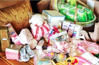 First-rate products for beauty queen mom Shamcey and her baby daughter Nyke