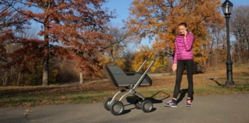 A stroller that pushes itself is now in the works!