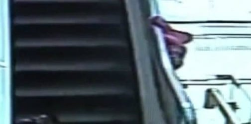 Watch another shocking video of toddler plummeting to death from escalator