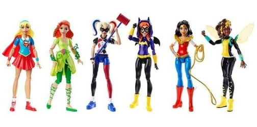 Launch of Superhero Girls action figures hopes to empower young girls