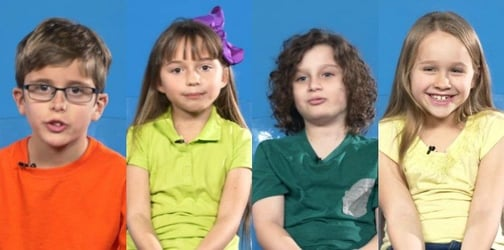 These kids talking about their crushes is the cutest thing you'll see all day