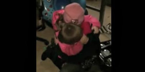 Boy sobs hysterically after his little sister buys him a hamster with her birthday money