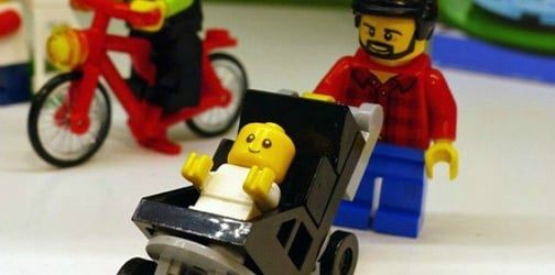 Lego unveils new figures: stay-at-home dad and working mom