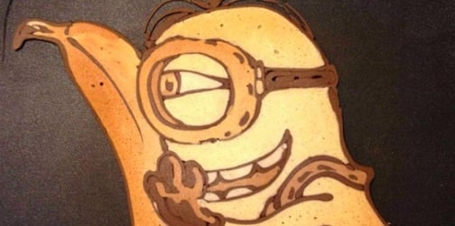 Meet the dad who makes amazing art using pancakes