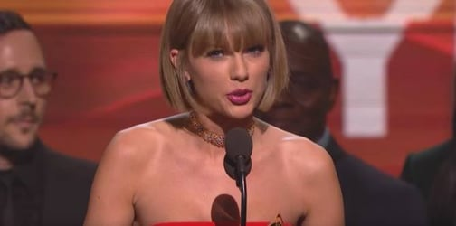 5 Lessons young girls can learn from Taylor Swift's Grammy speech