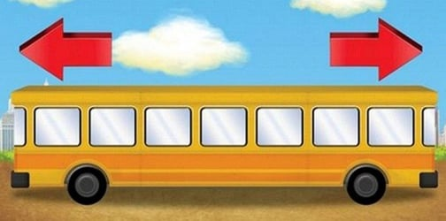 Which way is the bus going? The logic puzzle that's easy for kids but tough for adults