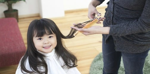 How to deal with your child's first haircut + kid-friendly salons in Metro Manila