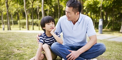 Why we need to teach our sons to be good men without pressuring them to 'man up'