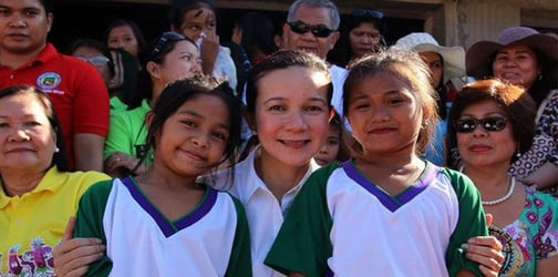 Grace Poe to prioritize food and nutrition of children