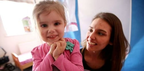 A rare disease compels this toddler to eat everything