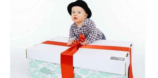 Babies from around the globe are sleeping in these special boxes