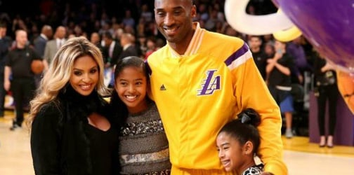 Kobe Bryant's wife is excited that he will be home more often