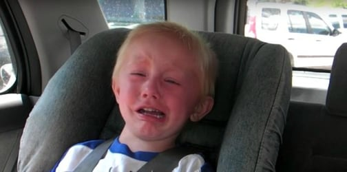 3-year-old's reaction to GPS directions is absolutely priceless