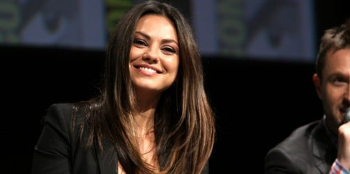 Mila Kunis is proud to be a stay-at-home mom