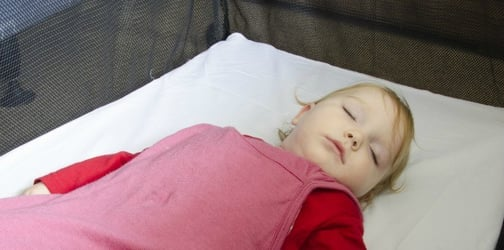 Beware: Ten-month-old baby dies in an ill-fitted portacot