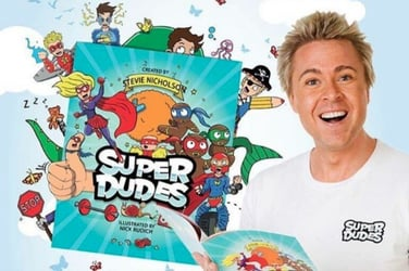 Superdudes: New book and show inspire kids to be super!