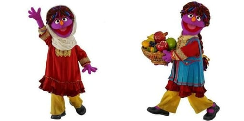 Sesame Street welcomes new muppet who will empower young girls