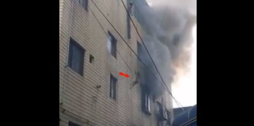 TRENDING: 3 Babies are dropped from a burning building to safety and other news