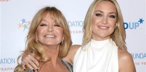 Kate Hudson talks about her inspiration: mom Goldie Hawn
