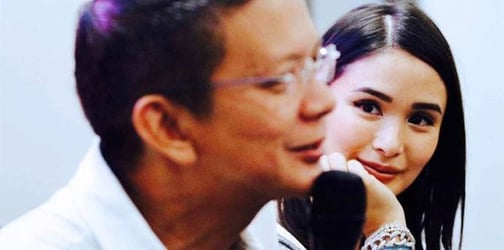 Heart and Chiz's most touching moments on the campaign trail