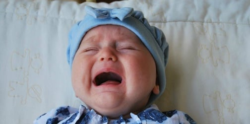 Mom's baby won't stop crying and the reason behind it shocks her